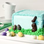 Chocolate Bunny in Grass Cake 22 150x150 - DIY Easter Napkin Rings