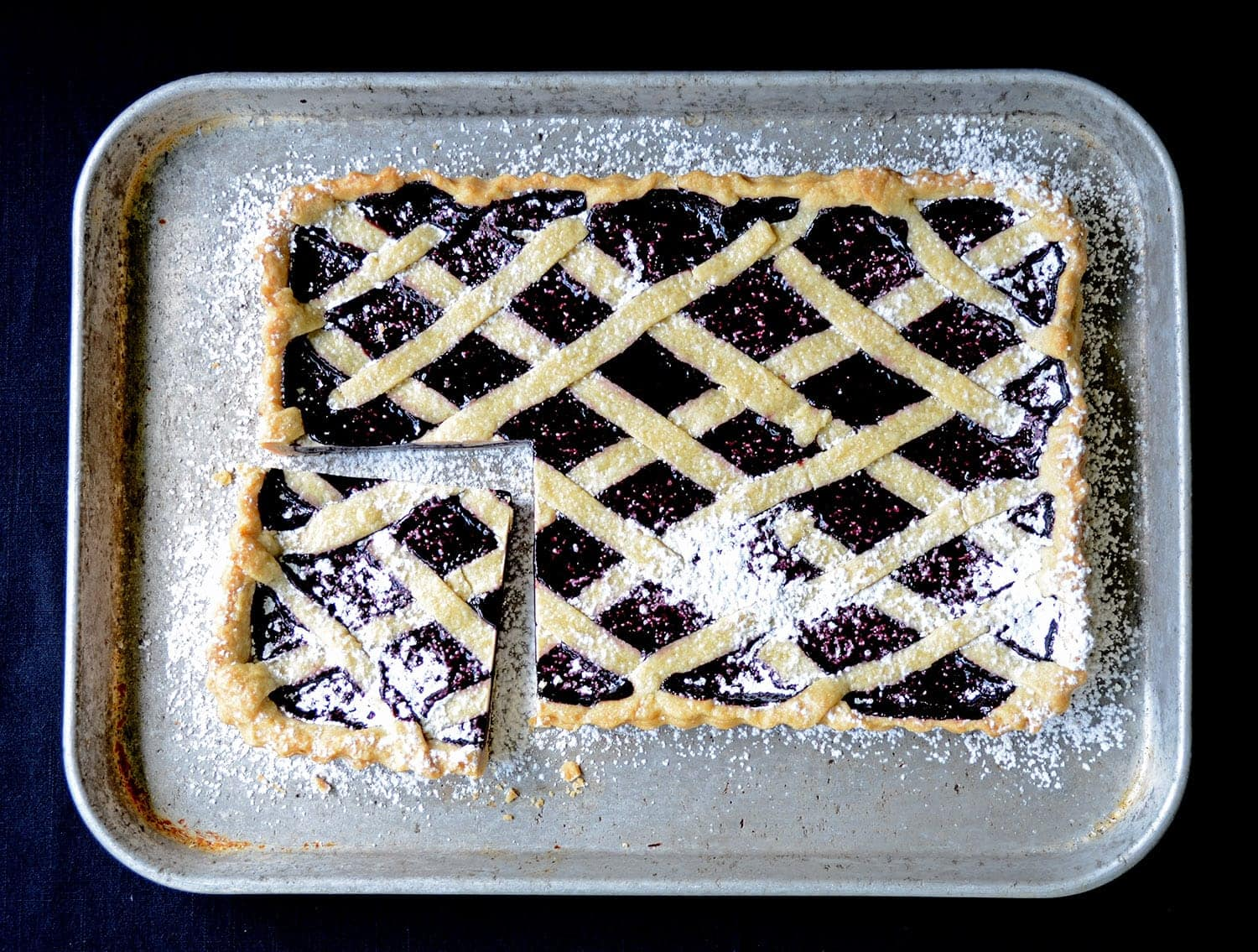 Mulberry Tart Web - Mulberry Tart with Cardamom and Black Pepper