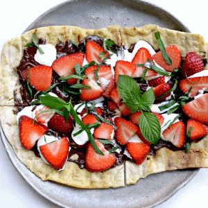 Chocolate Strawberry Mint Pizza Web 300x300 - Chocolate Strawberry Mint Dessert Pizza