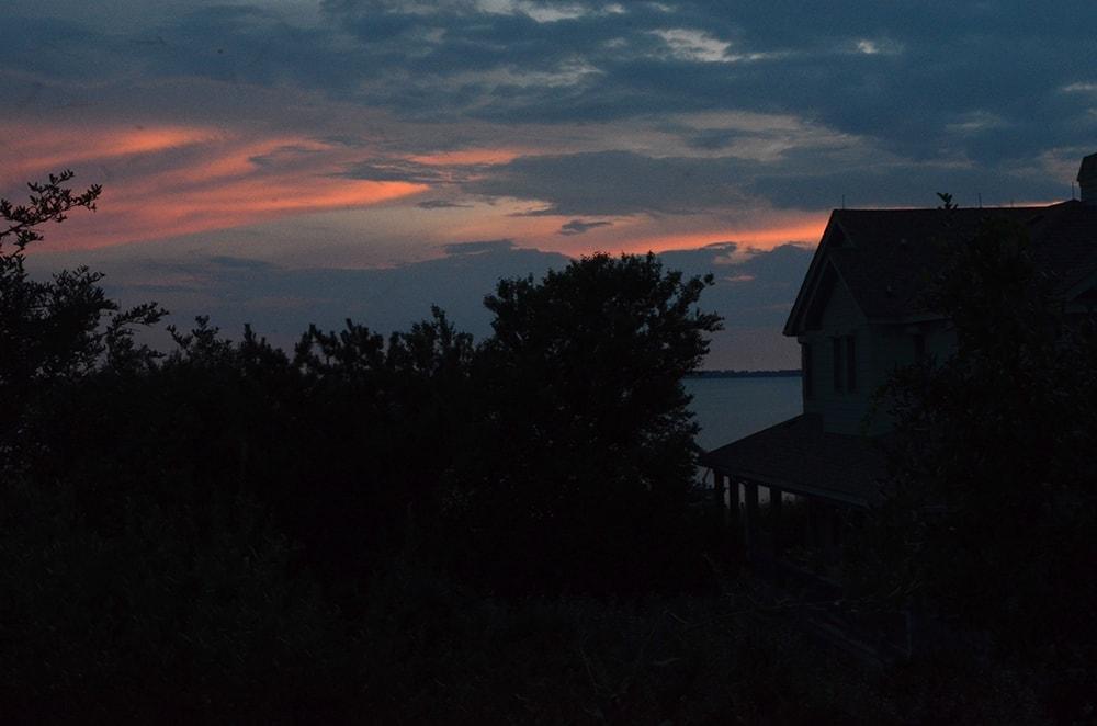 OBX Vacation House Sunset Web - Lemon Icebox Pie