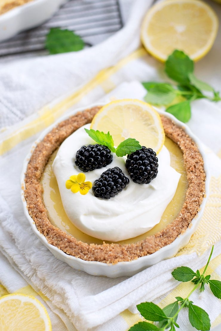 Lemon Icebox Pie 4261 Web - Lemon Icebox Pie