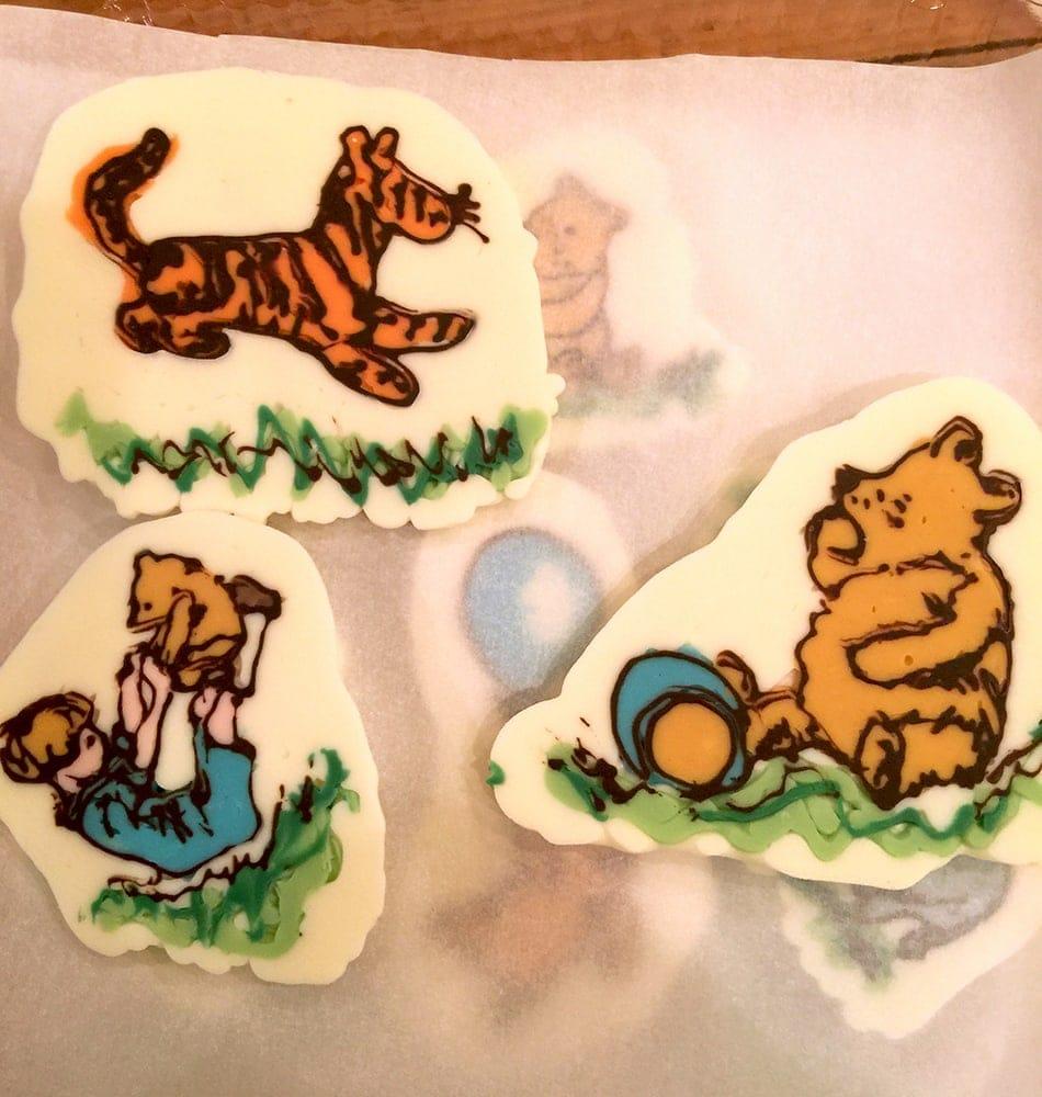 Pooh Chocolates 2 - Winnie the Pooh Baby Shower Dessert Buffet