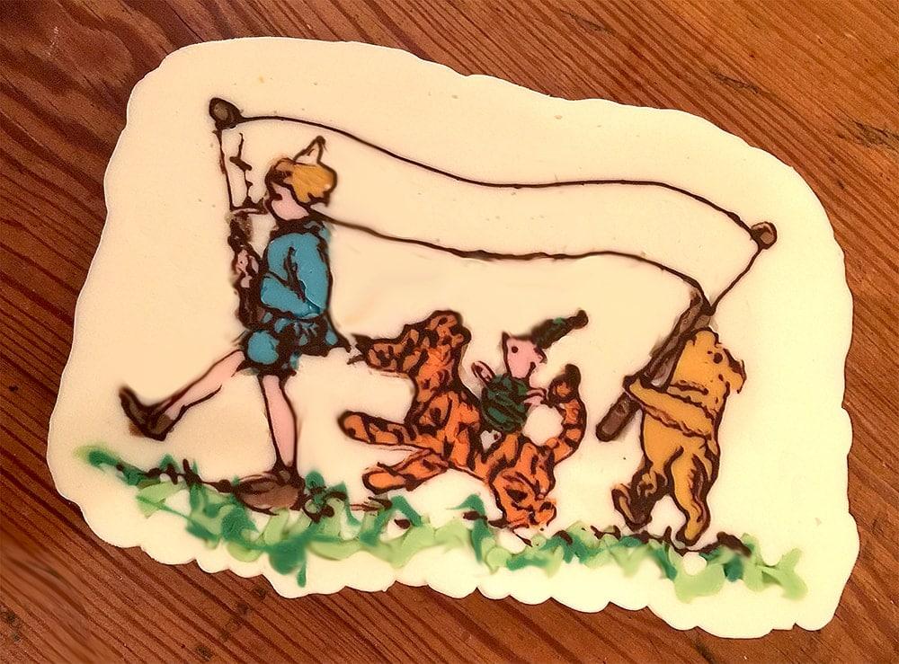 Pooh Chocolates - Winnie the Pooh Baby Shower Dessert Buffet