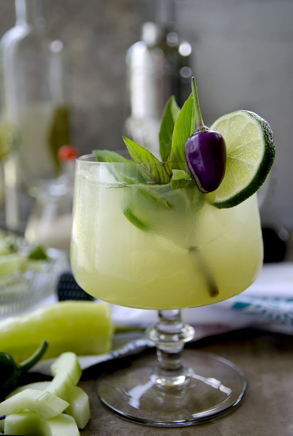 Thai Basil Cocktail