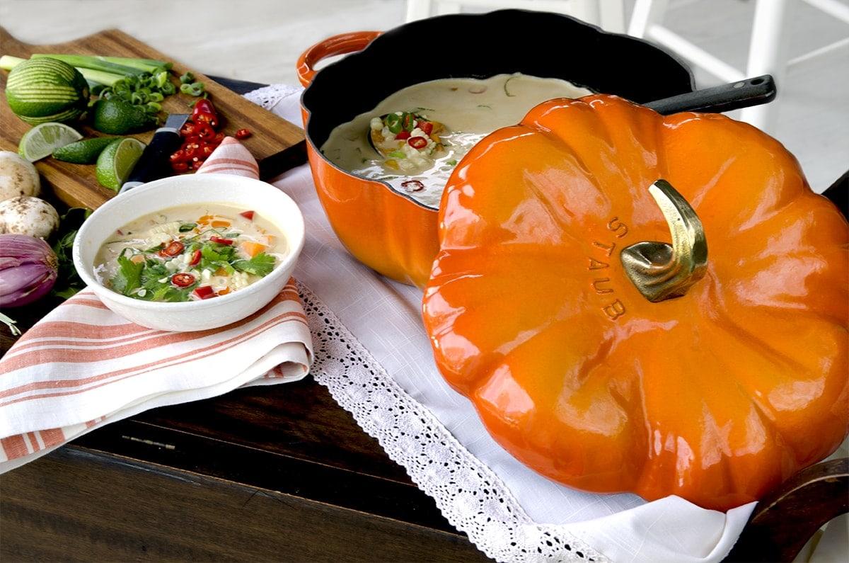 Cart Horizontal Web - Thai Pumpkin Corn Soup