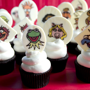 Kermit the Gang Web 300x300 - Muppets Cupcakes <br/>& Easy Vanilla Buttercream