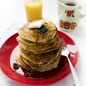 Plate of Pancakes Web 4 300x300 - Chocolate Cherry Pancakes