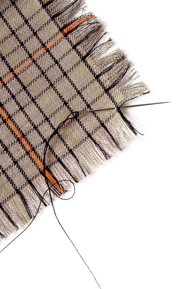 Needle Web 3 - Fringed Napkins