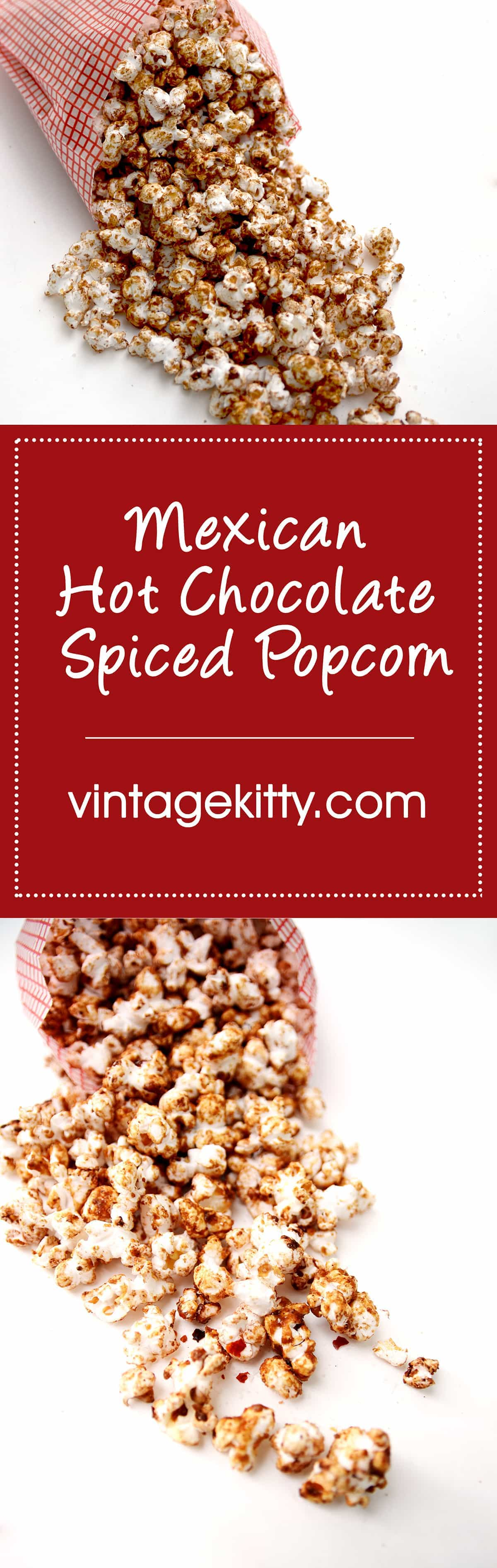 Popcorn Pin - Mexican Spiced Hot Chocolate Popcorn