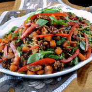 Autumn Asian Noodle Salad