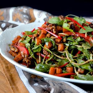 Autumn Asian Noodle Salad Side View 300x300 - Autumn Asian Noodle Salad