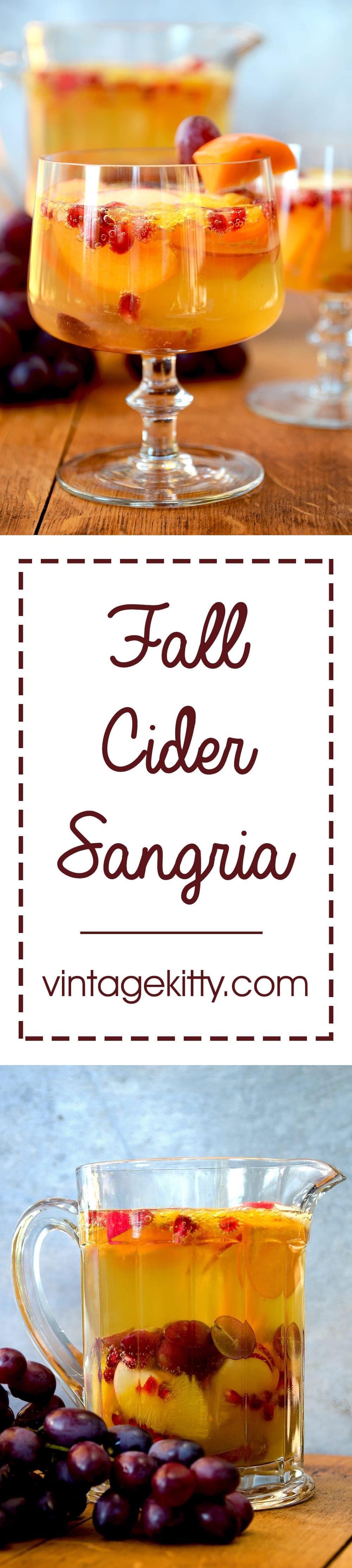 Cider Sangria Pin - Fall Cider Sangria