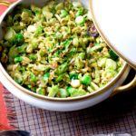 Covered Dish of Brussels Sprouts Web 150x150 - Lemon Balm Pesto