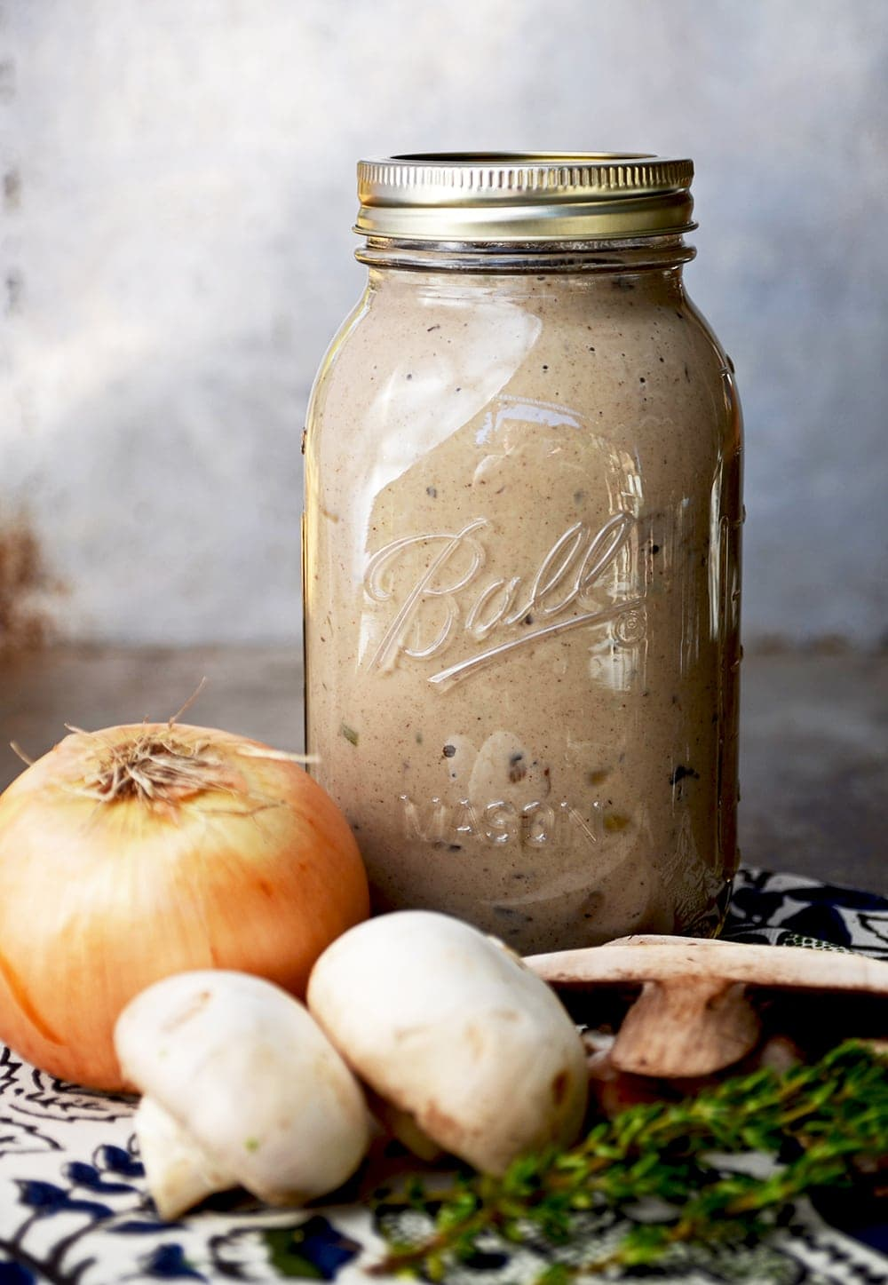 Jar of Cream of Mushroom Soup Web 2 - Condensed Cream of Mushroom Soup from Scratch