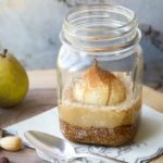Nutty Pear Crumble in Jar 2 Web 150x150 - Salted Caramel Pawpaw Ice Cream </br> with Cashew Praline Crunch
