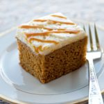 Piece of Pumpkin Beer Cake 150x150 - Rum Raisin Apple Brown Betty