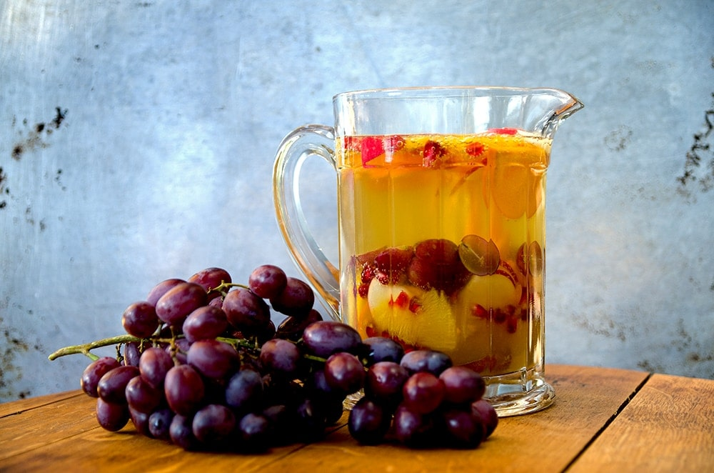 Pitcher of Cider Sangria Web - Fall Cider Sangria