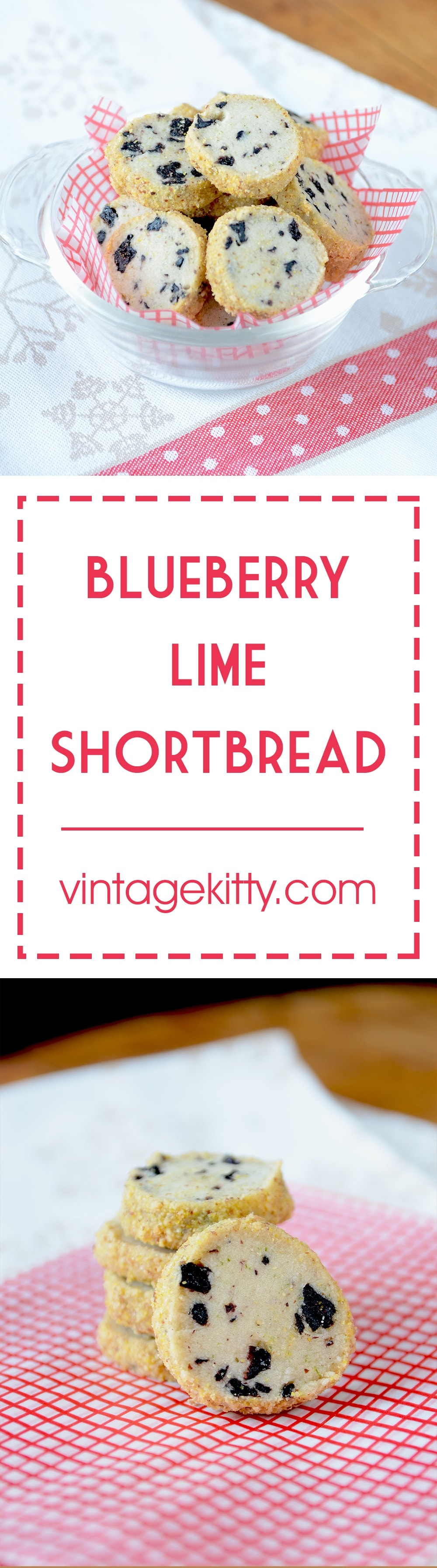 Blueberry Lime Shortbread Pin - Blueberry Lime Shortbread