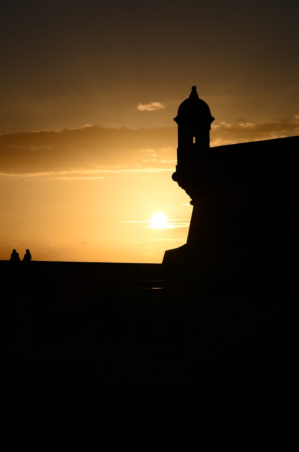 El Morro Silhoutte Web - Old San Juan and Rum Old Fashioned