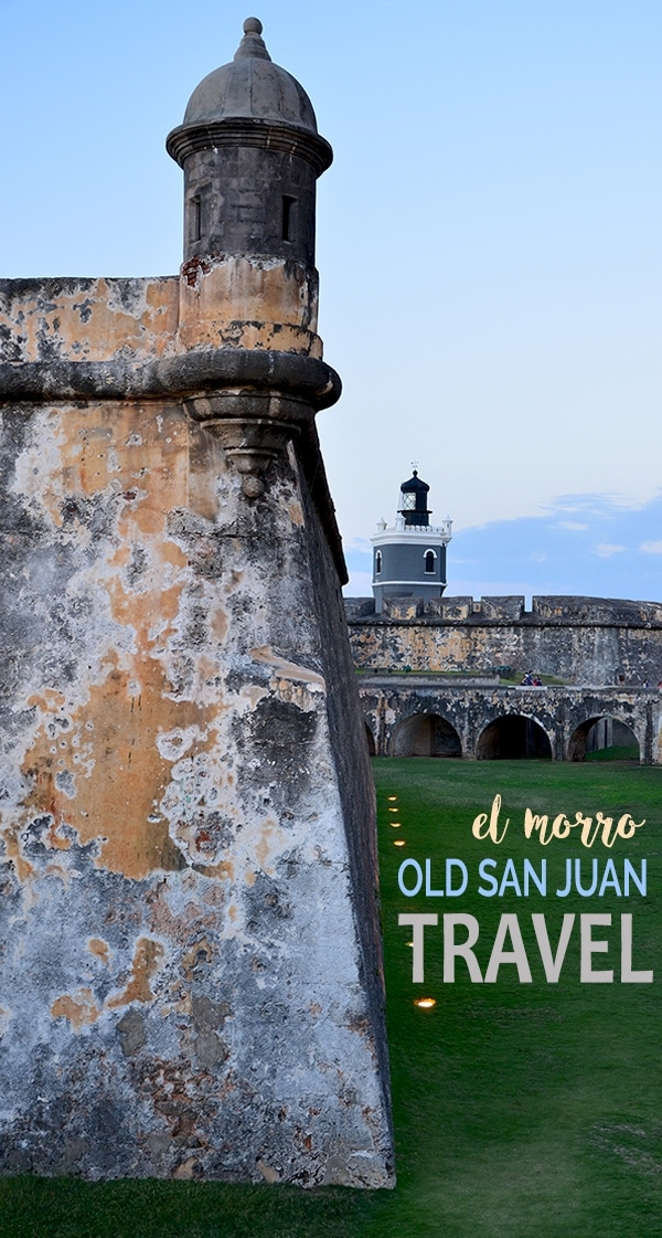 Old San Juan El Morro - Old San Juan and Rum Old Fashioned