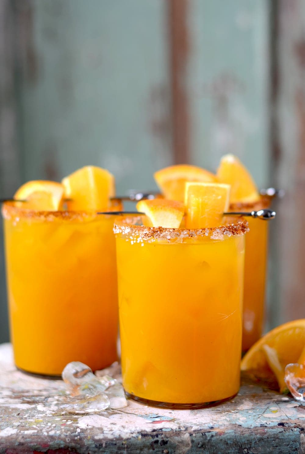 Orange Turmeric Margaritas Web - Orange Turmeric Margaritas