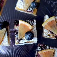 Blueberry Grapefruit Bars