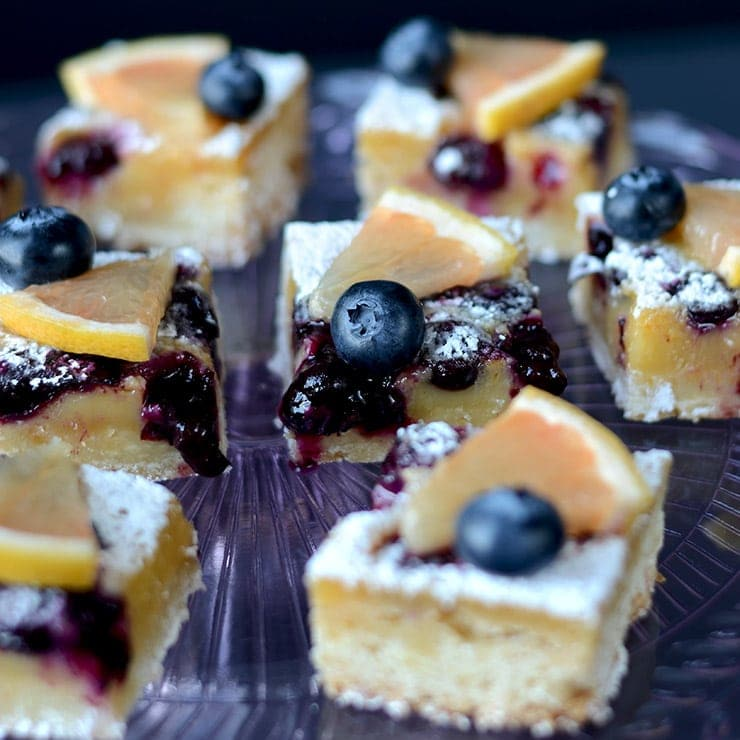 Blueberry Grapefruit Bars Square Web - Blueberry Grapefruit Bars