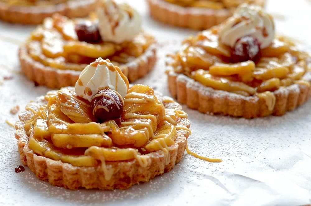 Pineapple Rum Tartlets Horizontal Web - Pineapple Rum Tartlets