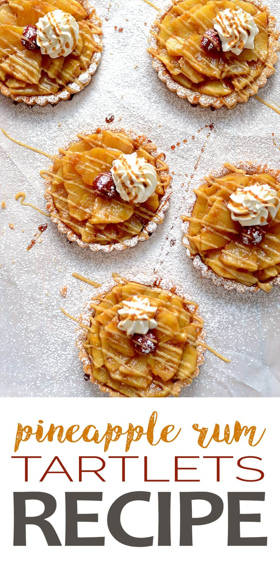 Pineapple Run Tartlets Pin - Pineapple Rum Tartlets