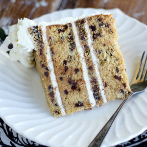 Slice of Chocolate Chip Cookie Cake Web 300x300 - Chocolate Chip Cookie Cake