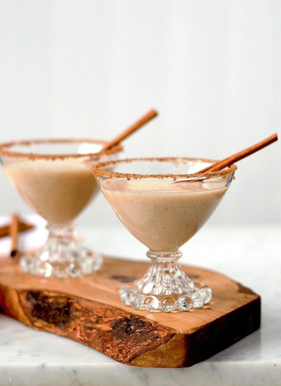 Sopapilla Martinis in Candlewick Glasses Web - Sopapilla Martinis