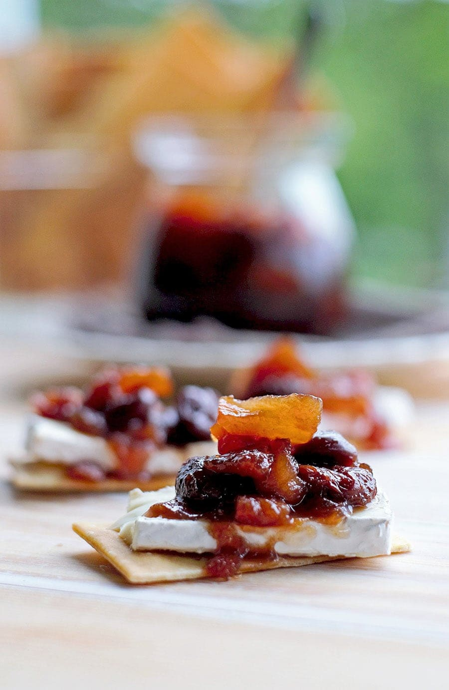 Compote with Brie Web - Dried Fruit Compote