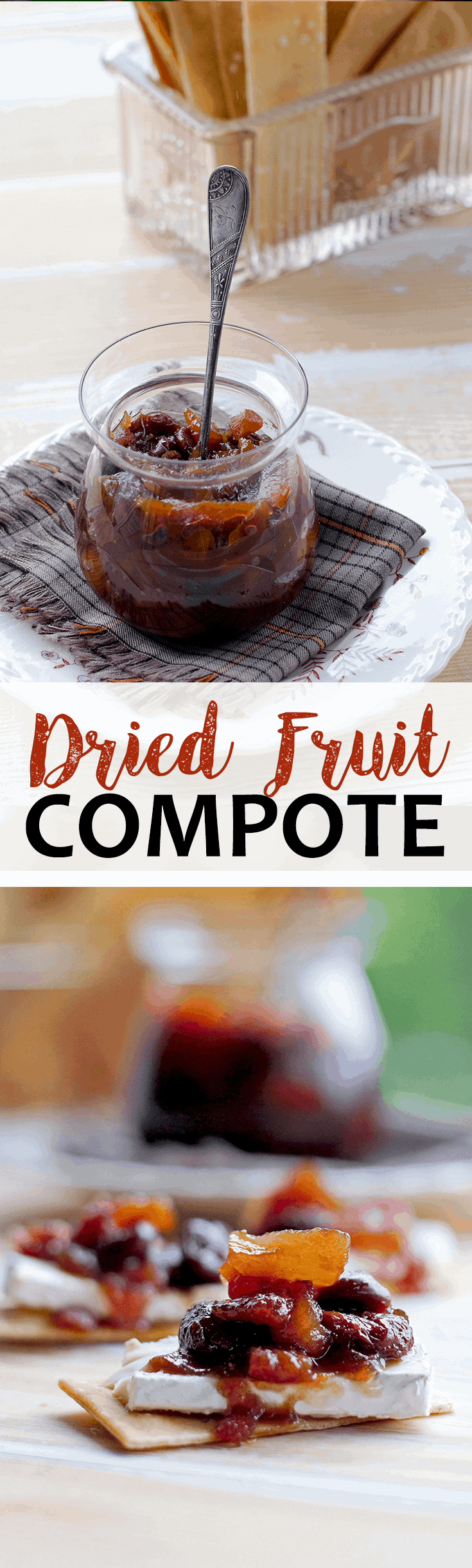 Dried Fruit Compote - Dried Fruit Compote