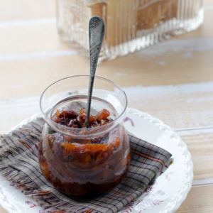 Jar of Compote and Crackers Web 300x300 - Dried Fruit Compote