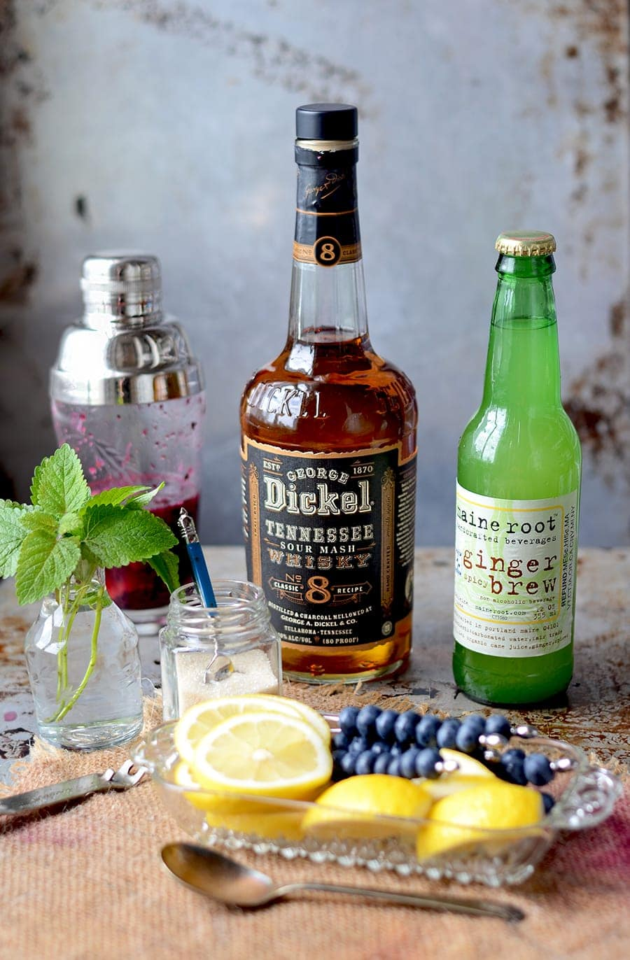 You're going to love this Blueberry Whiskey Buck recipe! It's made with just a handful of simple ingredients, so say hello to your new favorite cocktail for impromptu parties!