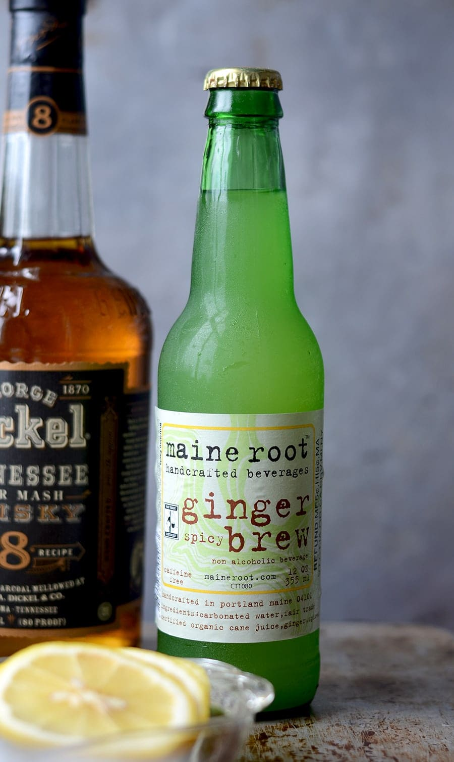 Ginger Beer Web - Blueberry Whiskey Buck