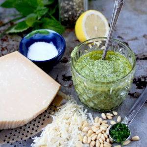 Lemon Balm Pesto 2 Web 300x300 - Lemon Balm Pesto