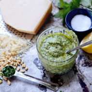 Lemon Balm Pesto