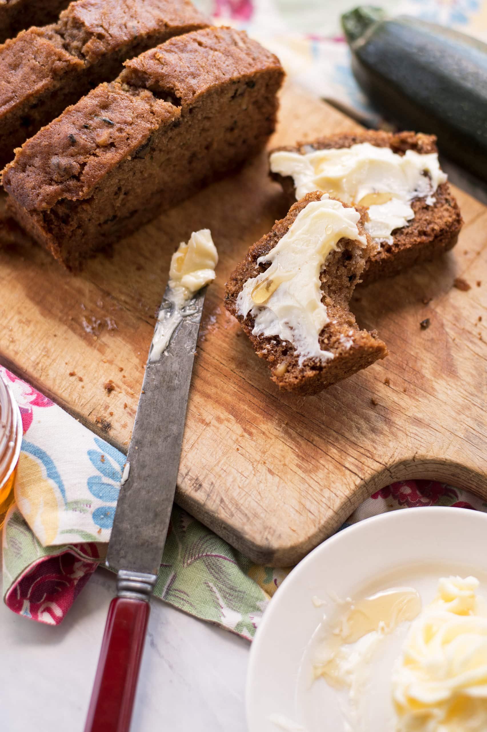 Zucchini Bread 3468 2000px scaled - Honey Walnut Zucchini Bread