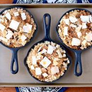 Rum Raisin Apple Brown Betty