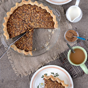 Cut Up Maple Walnut Pie Web 300x300 - Maple Walnut Pie