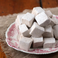 Spicy Gingerbread Marshmallows