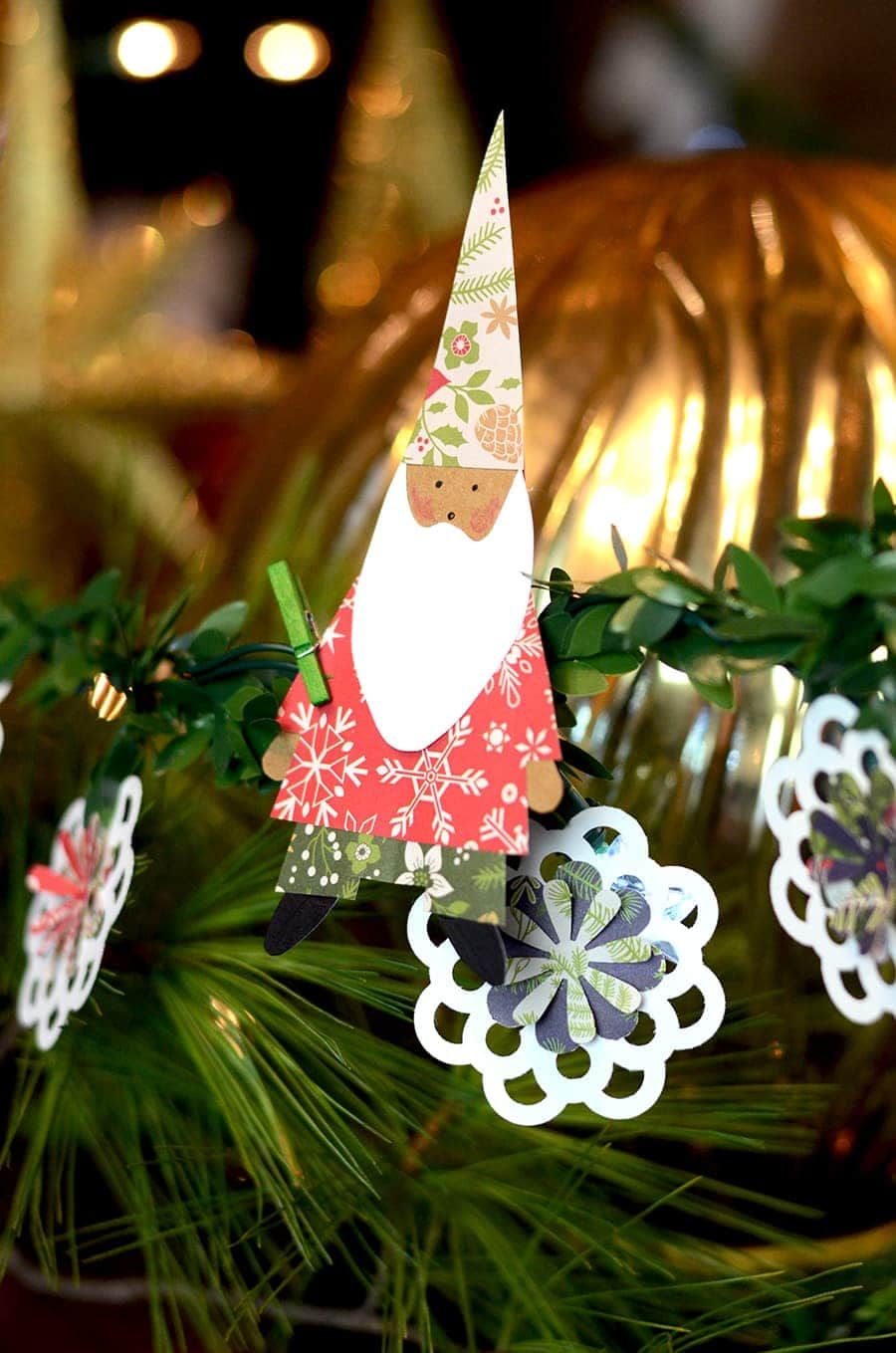 Gnome Garland Web - Christmas Gnome Craft