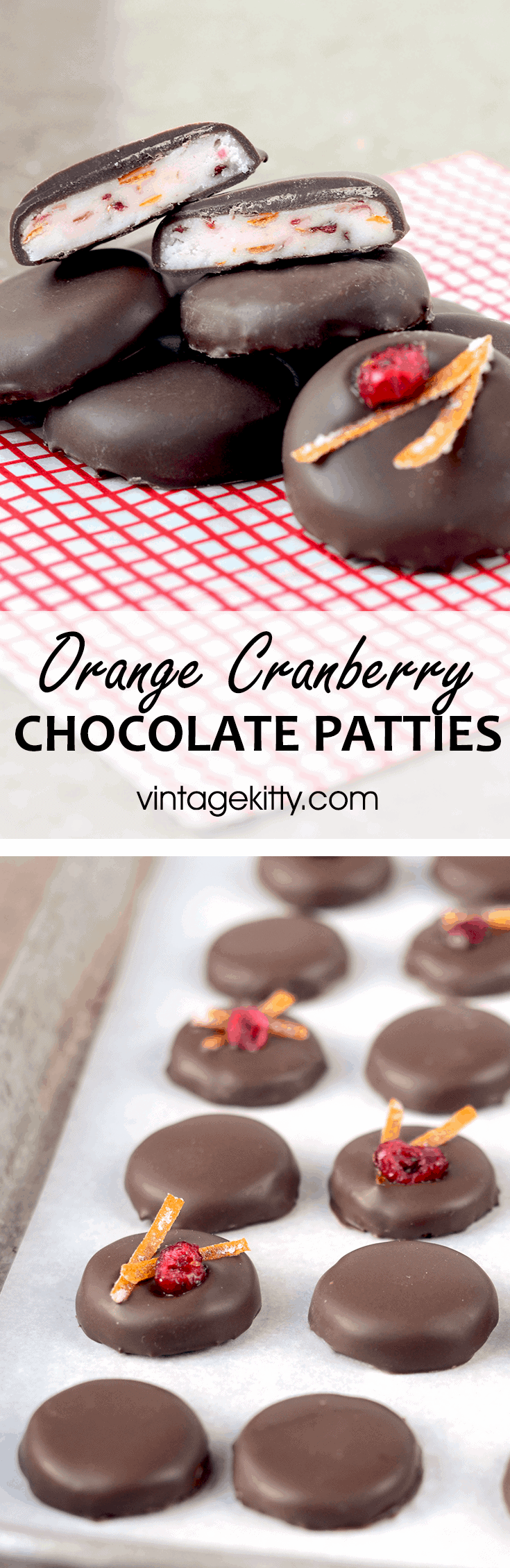 Orange Cranberry Patties - Orange Cranberry Patties-</br>a delicious holiday candy!
