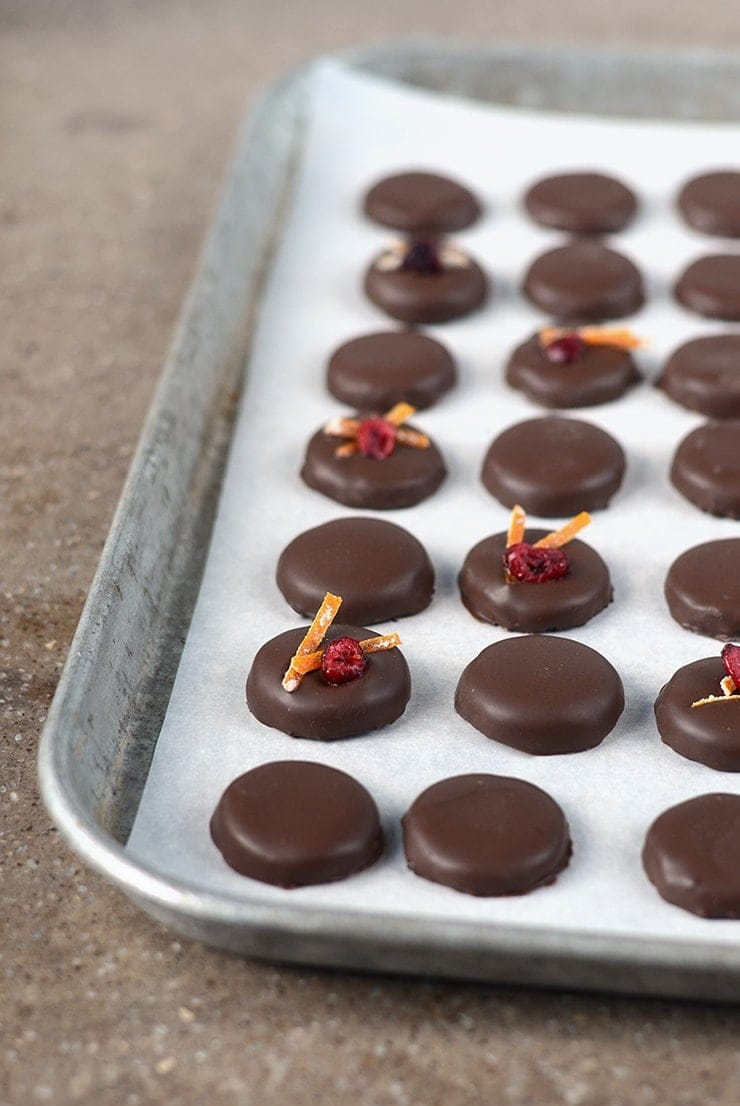 "Orange Cranberry Patties make excellent Christmas gifts! Nothing says ""I love you"" like homemade candy!"