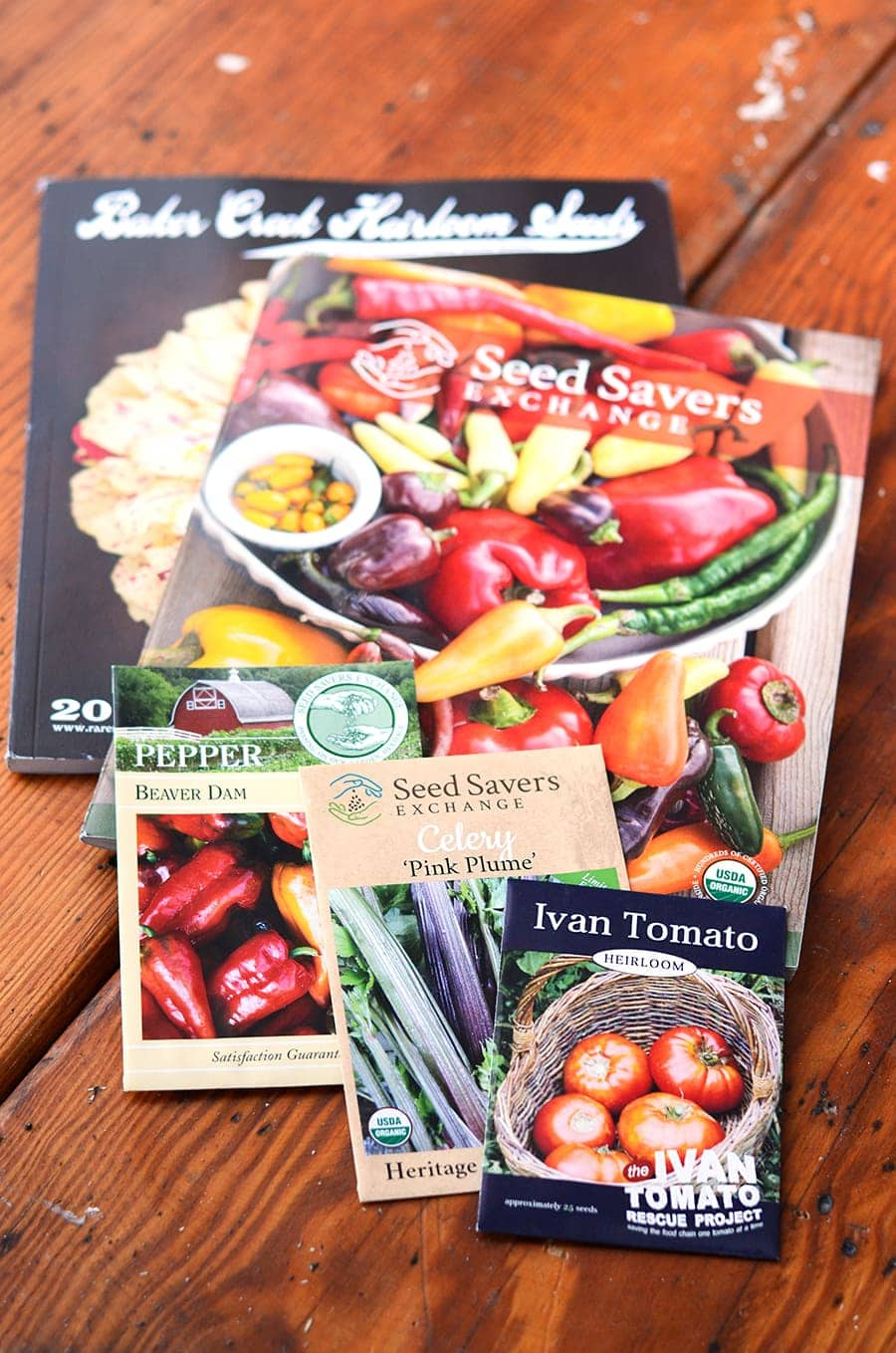 Catalogs and Seeds Web - Beat the winter blues with garden planning