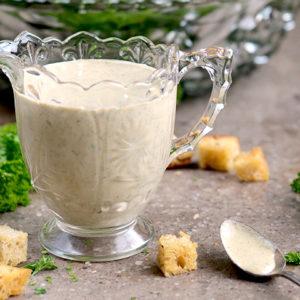 Creamy Italian Dressing Vegan GF Slider 300x300 - Vegan Creamy Italian Salad Dressing