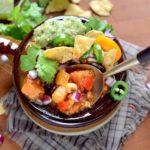 Spoonful of Vegan Sweet Potato Chili Web 150x150 - Vegan Sweet Potato Chili with Black Beans and Quinoa
