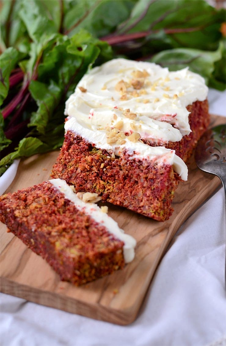 Beet Cake 5 - Rustic Beet Cake with Cream Cheese Icing