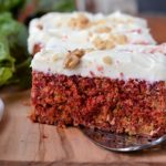 Dress up your dessert or breakfast or snack with this beautiful Rustic Beet Cake with Cream Cheese Icing. A sweet alternative to carrot cake..